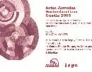 Actas Jornadas Socioeducativas Guadix 2003