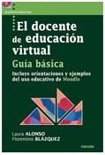 portada de libro El docente en educación virtual. Guía básica